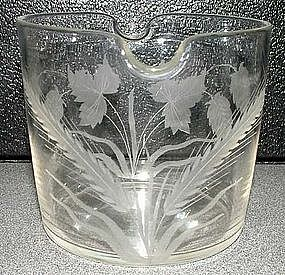 Rare English Wine Glass Rinser; c 1810