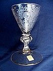 Exceptional and Early German Goblet  c 1690