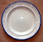 Leeds Feather Edge Molded Plate; c 1825