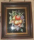 American Tinsel Painting  c1880