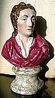 Staffordshire Bust Figure of Locke  c1830