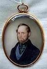 John McDougall Portrait Miniature  c1845