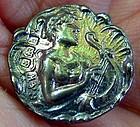 Hallmarked Silver Set of 6 Button Studs  c1907