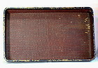 Japanese Lacquer on Reed Kimono Tray