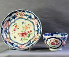 Chinese Export Porcelain Tea Bowl & Saucer
