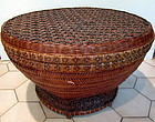 Chinese Bamboo Basket & tray for Tea Leaf