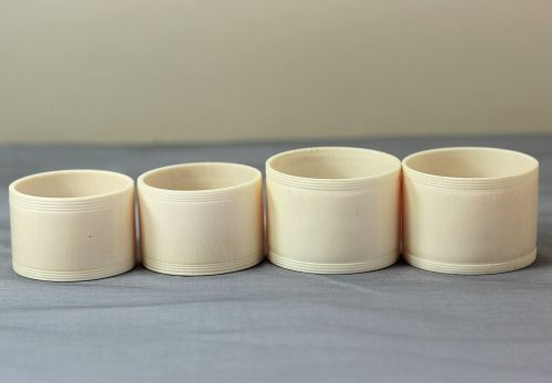 Four(4) Ivory Napkin Rings