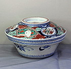 Japanese Imari Porcelain covered Serving Tureen