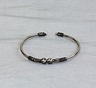 Siamese Silver bangle Bracelet