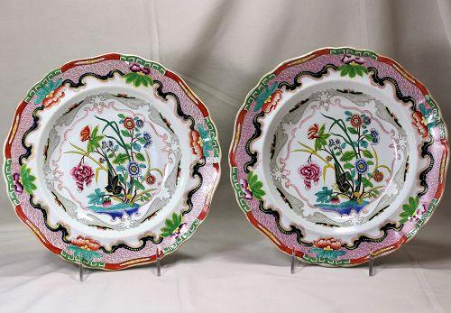 English Ironstone large Soup Plates(2)