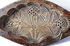 Chinese Wood Rice Cake Mold, Lotus flower pattern