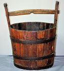 Chinese wood Bucket