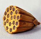 Chinese Lotus Seed shape Ivory Toggle