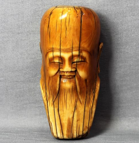 Chinese old man Ivory Toggle