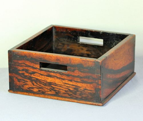 Japanese Persimmon Wood Tobacco Tray
