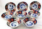 Eight(8) Japanese Imari Porcelain Bowls