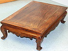 Chinese Huanghuali Wood large Low Table