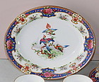 "English Shelley Porcelain oval serving Platter, ""Old Sevres"" pattern"