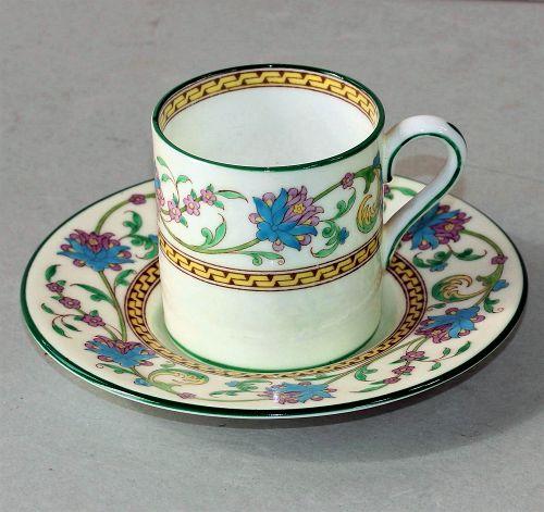 English Wedgwood Bone China Demitasse Cup and Saucer