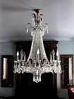 Crystal Empire style Chandelier with eight(8) lights