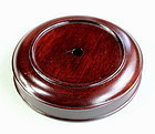 Chinese Hardwood round Lamp Top/Cover