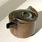 Japanese Brass Tea Pot