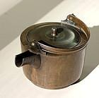 Japanese Brass Tea Pot