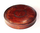 Chinese Hardwood Top or Cover for Jar