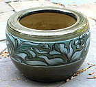 Chinese Stoneware round Planter, flower pot