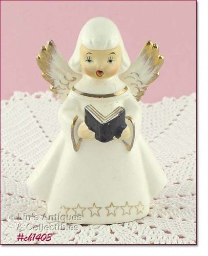 CHOIR GIRL ANGEL FIGURINE
