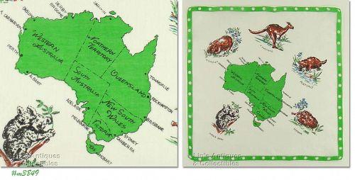 SOUVENIR HANDKERCHIEF, AUSTRALIA