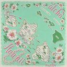 STATE SOUVENIR HANDKERCHIEF, HAWAII