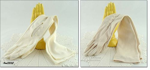 LONG GLOVES � 2 PAIRS AVAILABLE