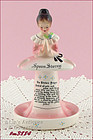 ENESCO � PRAYER LADY SPOON STORAGE (DISPLAY/HOLDER)