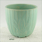 McCOY POTTERY � LOTUS LEAF JARDINIERE