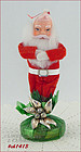 VINTAGE SANTA FIGURE/ORNAMENT (MINT CONDITION)