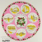 ROUND SOUVENIR HANDKERCHIEF FOR ST. LOUIS