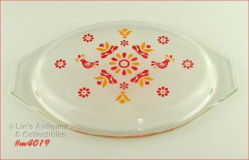 PYREX � LID FOR FRIENDSHIP CASSEROLE