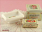 AVON � COUNTRY GARDEN SOAP DISH AND SOAP (MIB)