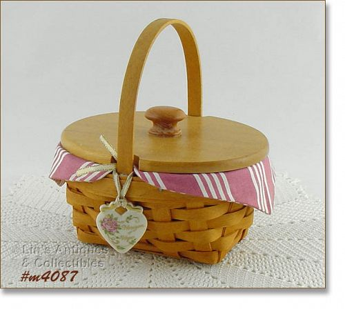 LONGABERGER � HORIZON OF HOPE BASKET (1999)