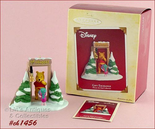 HALLMARK � WINNIE THE POOH �GIFT EXCHANGE� ORNAMENT