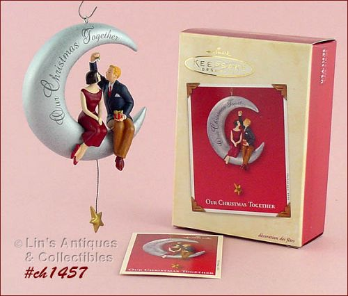 HALLMARK � �OUR CHRISTMAS TOGETHER� 2002 ORNAMENT