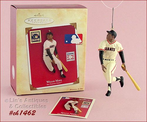 HALLMARK � WILLIE MAYS ORNAMENT