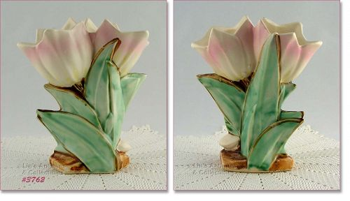 McCOY POTTERY � DOUBLE TULIP VASE