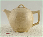 McCOY POTTERY � TEAPOT (CREAM COLOR WITH SPECKLES)