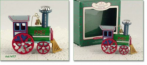 HALLMARK � TIN LOCOMOTIVE ORNAMENT (1987)