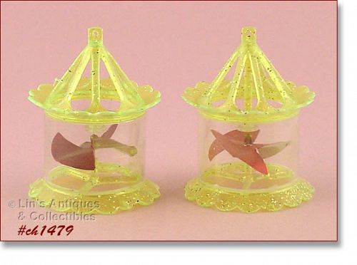 TWO �SPINNER� ORNAMENTS