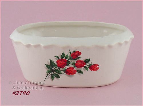 McCOY POTTERY � TUDOR ROSE PLANTER