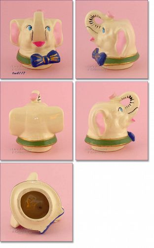 SHAWNEE POTTERY � �LUCKY� ELEPHANT COOKIE JAR LID
