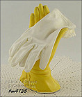 WHITE GLOVES (SIZE 6 � 6 ½)